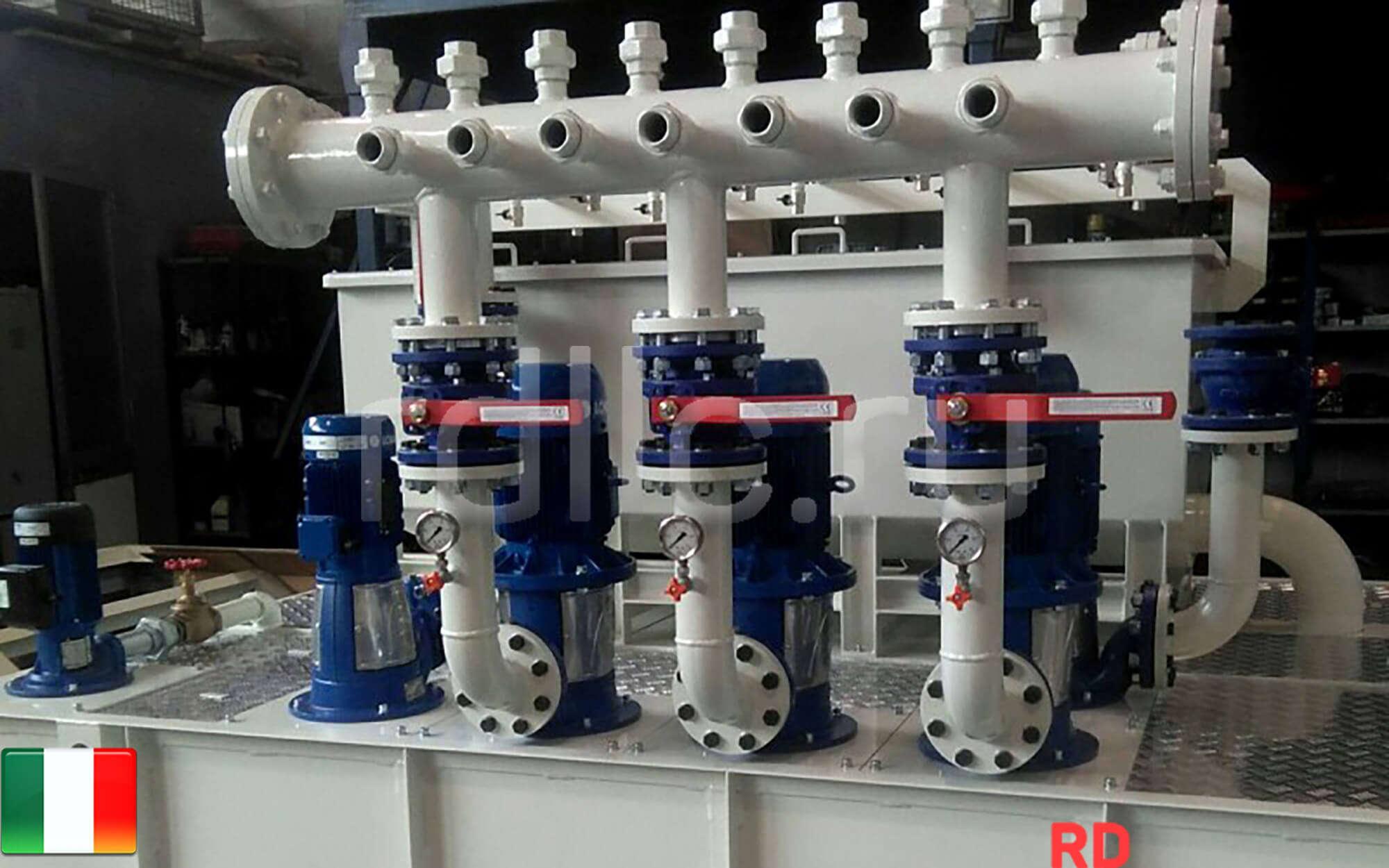 Централизованная система фильтрации охаждающей жидкости