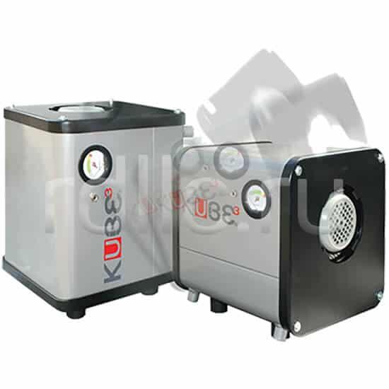 Фильтр удаления масляного тумана / паров СОЖ Kube может быть установлен как горизонтально, так и вертикально без каких-либо дополнительных манипуляций, аксессуаров или креплений