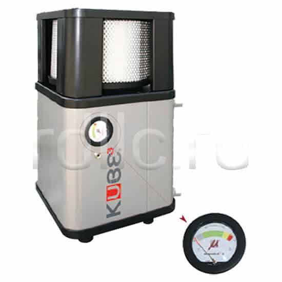 Фильтр удаления масляного тумана / паров СОЖ Kube с дифференциальным манометром в качестве опции для контроля за сроком службы фильтра