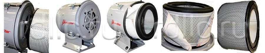 Уловитель (сепаратор) масляного тумана / паров СОЖ турбинного типа Microil. Техническое обслуживание
