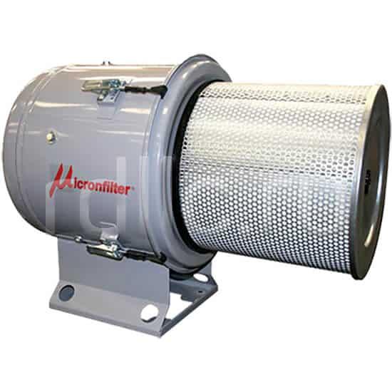 Уловитель (сепаратор) масляного тумана / паров СОЖ турбинного типа Microil. Фильтр окончательной фильтрации HEPA