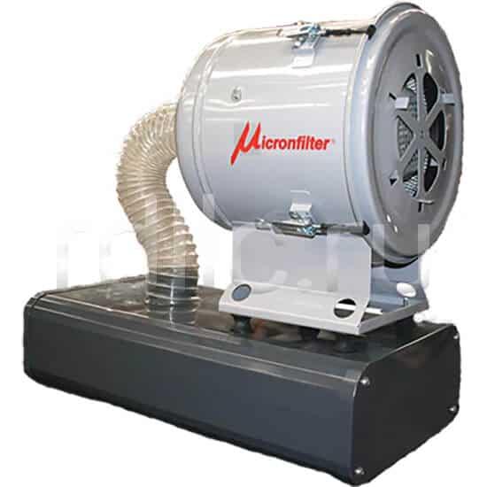Уловитель (сепаратор) масляного тумана / паров СОЖ турбинного типа Microil. Фильтр предварительной фильтрации