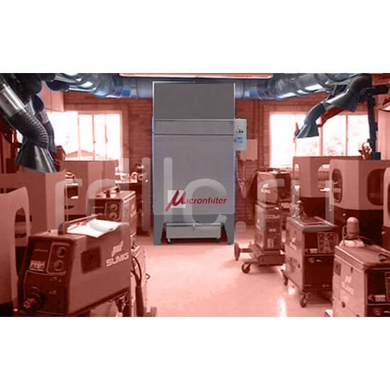 Универсальные пылеулавливающие агрегаты (фильтры для улавливания пыли) AIRJET для автономного и централизованного применения