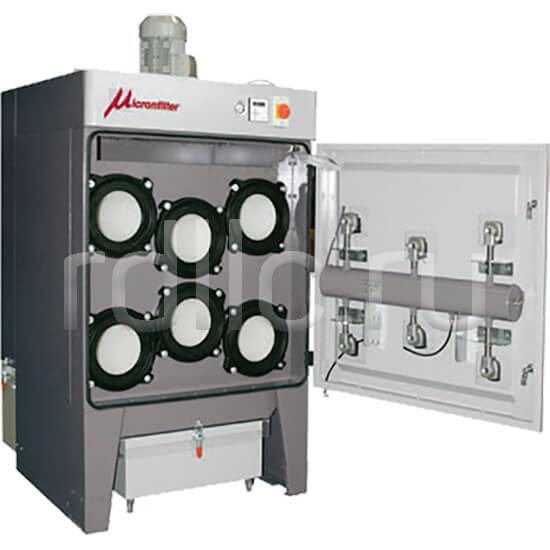 Универсальные пылеулавливающие агрегаты (фильтры для улавливания пыли) Airjet. Техническое обслуживание