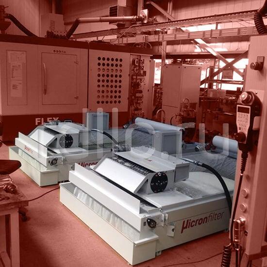 Фильтр очистки СОЖ гравитационного типа Easyband HD с предустановленным магнитным сепаратором СОЖ Kalamit