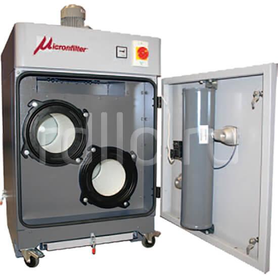 Универсальные пылеулавливающие агрегаты (фильтры для улавливания пыли) MiniAirjet. Техническое обслуживание