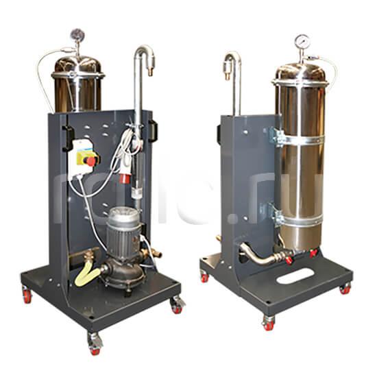 Портативная мобильная установка суперфильтрации СОЖ Oil Clean