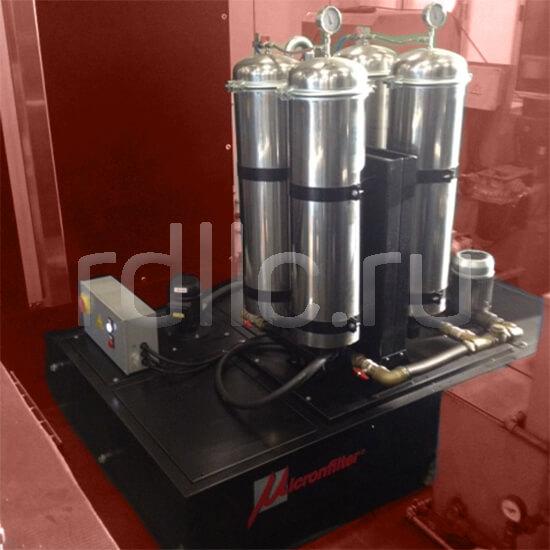 Портативная мобильная установка суперфильтрации СОЖ Oil Clean. Опциональное исполнение