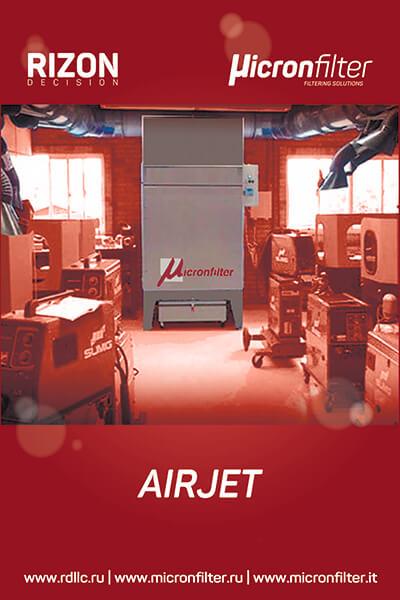 Универсальные пылеулавливающие агрегаты (фильтры для улавливания пыли) Airjet: Описание | Принцип действия | Технические характеристики
