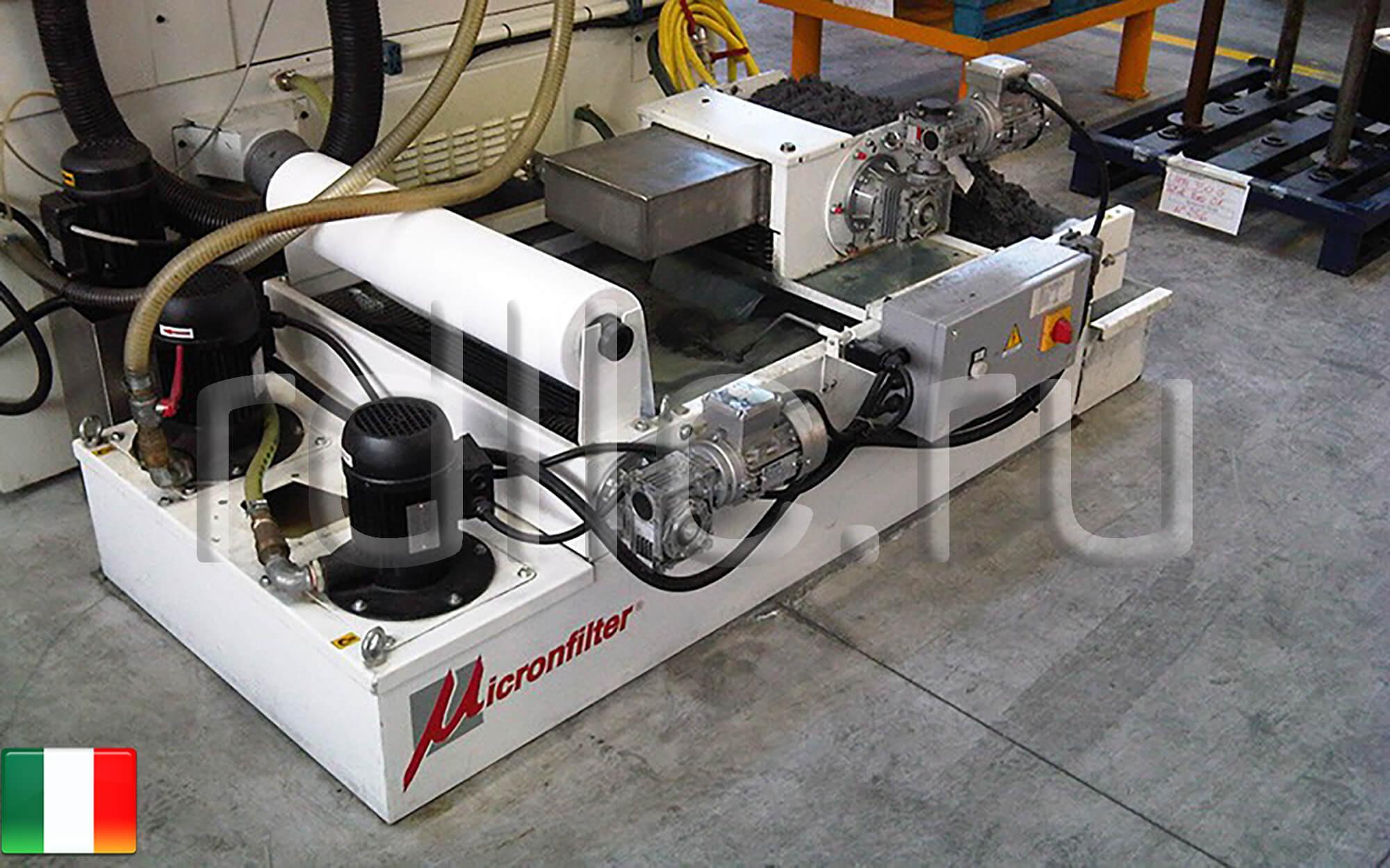 Когда недорогой фильтр очистки СОЖ является лучшим решением (фильтр очистки СОЖ гравитационного типа Easyband | магнитный сепаратор СОЖ Kalamit)