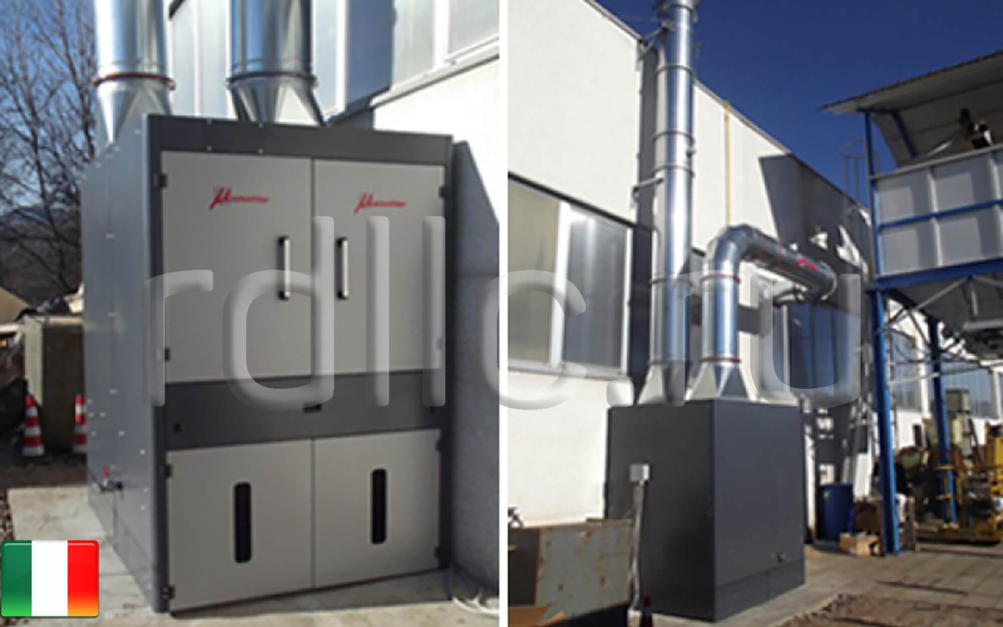 Универсальность применения установок фильтрации масляного тумана Ecotech (установка фильтрации масляного тумана Ecotech MAXI)