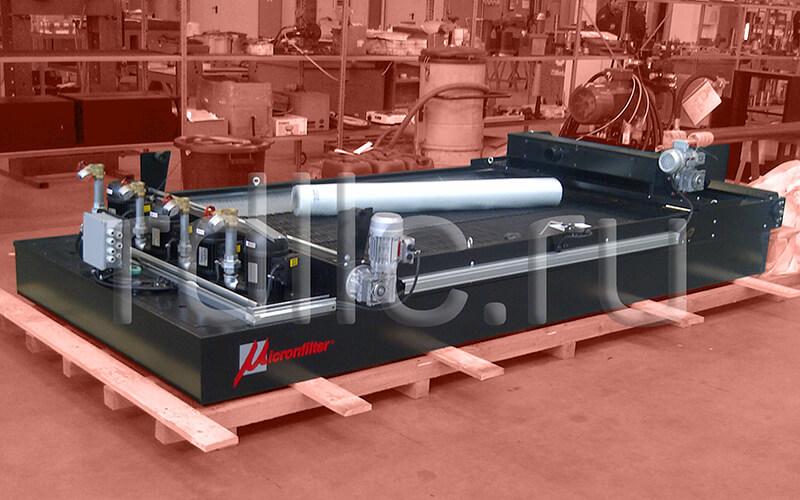 Фильтр очистки СОЖ гравитационного типа Easyband 450 с предустановленным магнитным сепаратором СОЖ Kalamit