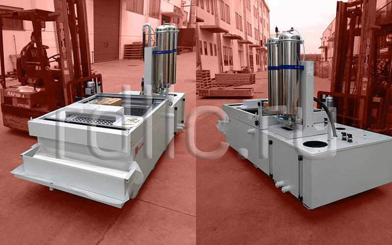 Фильтр очистки СОЖ гравитационного типа Easyband с предустановленным модулем суперфильтрации СОЖ Oil Clean