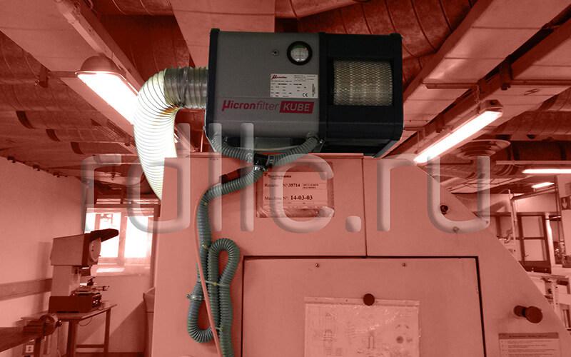 Применение фильтра удаления масляного тумана (паров СОЖ) Kube на токарном автомате продольного точения с ЧПУ TORNOS DECO