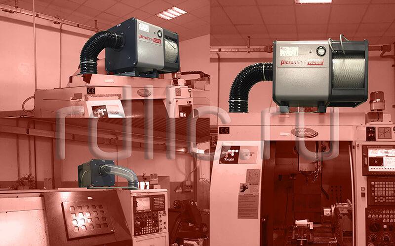 Применение фильтра удаления масляного тумана (паров СОЖ) Kube на станках с ЧПУ Tongtai: Вертикальный обрабатывающий центр | Станок для нарезания резьбы с ЧПУ | Токарный станок с ЧПУ
