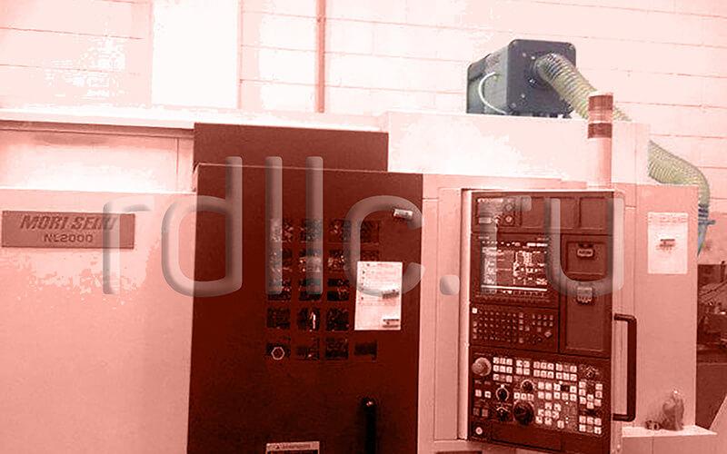 Применение фильтра удаления масляного тумана (паров СОЖ) Kube на высокоточном токарном станке с ЧПУ MORI SEIKI NL 2000