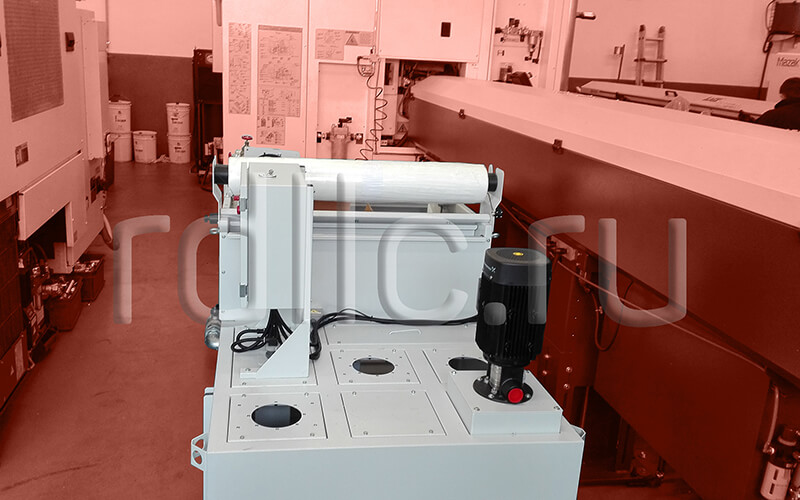 Фильтр очистки СОЖ гравитационного типа Evotech Deep (перемещение штатных насосов)