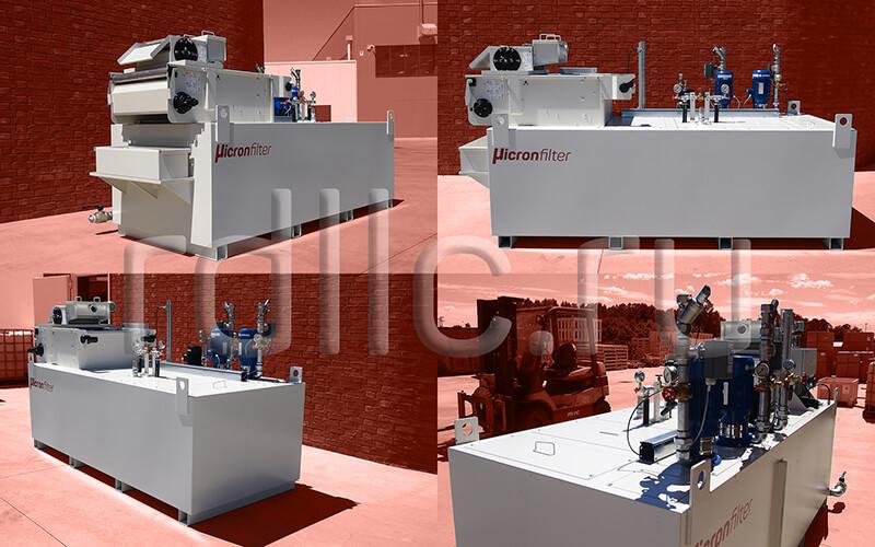 Фильтр очистки СОЖ гравитационного типа Evotech Deep с предустановленным магнитным сепаратором СОЖ Kalamit