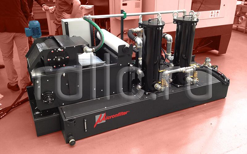 Фильтр очистки СОЖ гравитационного типа Evotech Deep с предустановленным магнитным сепаратором СОЖ Kalamit и модулем суперфильтрации СОЖ Oil Clean