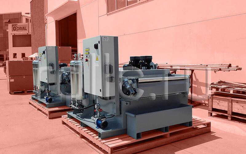 Фильтр очистки СОЖ гравитационного типа Evotech Deep с предустановленным модулем суперфильтрации СОЖ Oil Clean
