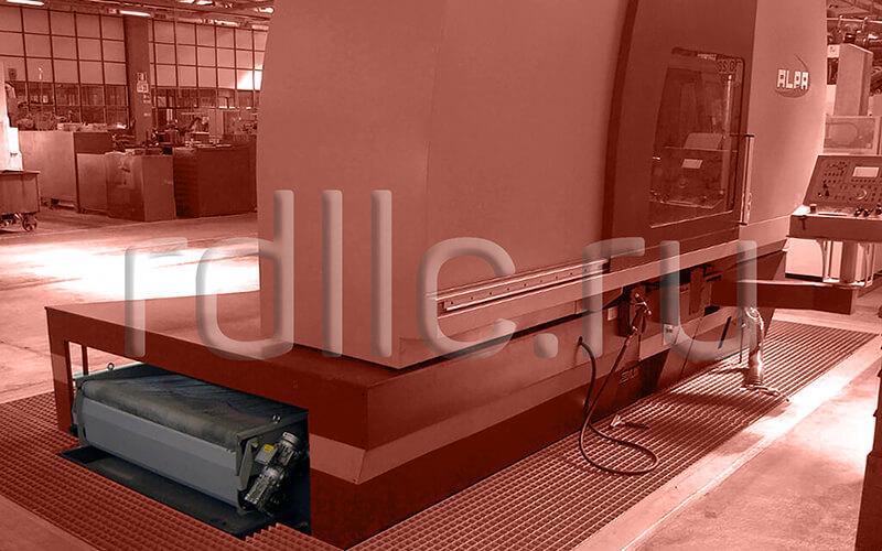 Оснащение плоскошлифовального станка APN-ALPA фильтром очистки СОЖ гравитационного типа Evotech