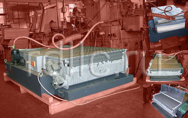 Фильтр очистки СОЖ гравитационного типа Evotech с армированным защитным покрытием