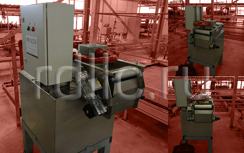Фильтр очистки СОЖ гравитационного типа Evotech с предустановленным магнитным сепаратором СОЖ Kalamit