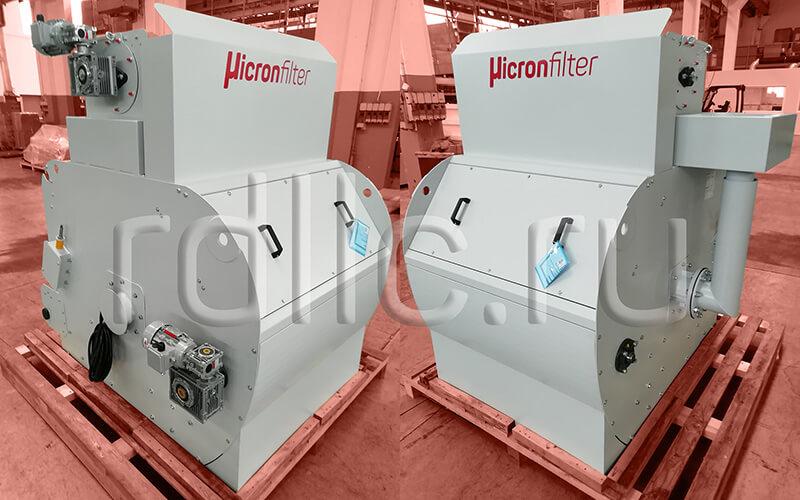 Установка фильтрации СОЖ гравитационного типа Maxflow 1000 с предустановленным магнитным сепаратором СОЖ Kalamit