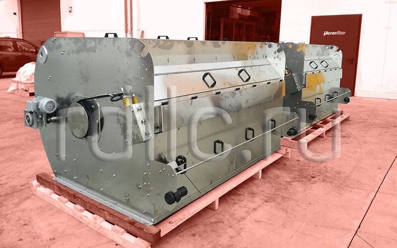 Установка фильтрации СОЖ гравитационного типа Maxflow 2000 из нержавеющей стали
